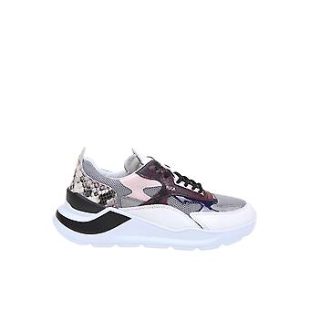 D.a.t.e. W331fgphgy Women's Multicolor Leather Sneakers