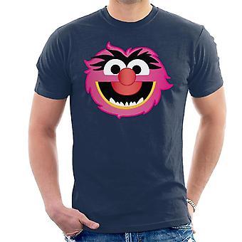 Disney The Muppets Animal Character Head Miehet&s T-paita