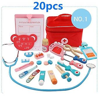 Doctor Set  Kit Role Play Classic Simulation For Children Girls Classi Interesting Medical Themed Toys
