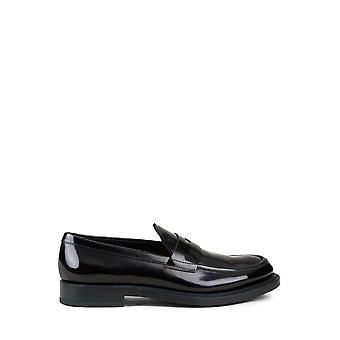 Tod's Xxm62c0di20aktb999 Men's Black Leather Loafers