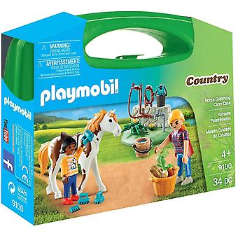 Playmobil9100 Horse Grooming Carrying Case