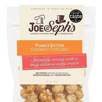 Popcorn med peanøttsmør