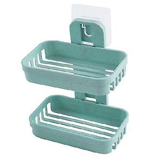 såpe retter boks- vegg zeep houder dusj såpe brett holder for bad double