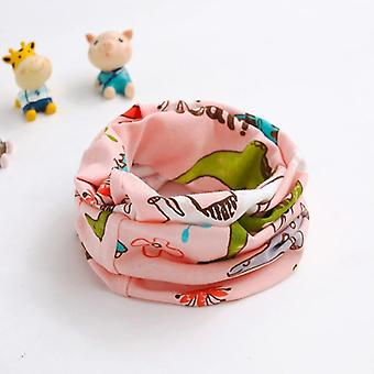 Autumn, Winter, Baby Scarf Cartoon Pattern, O Ring Neck Scarves