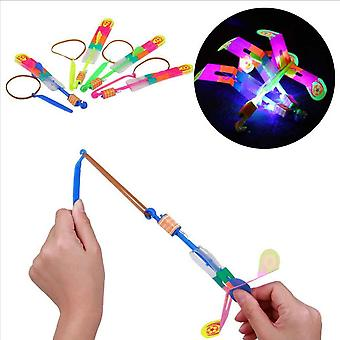 Led Lighting Luminous Flying Slingshot, Xmas Decor Light Quickly Fast Catapult
