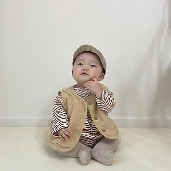 Kids Vest Autumn Outerwear Waistcoat For Boys/ Girls