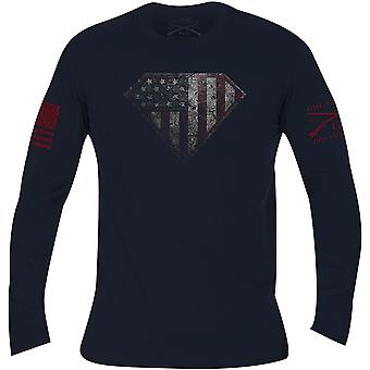 Grunt Style Super Patriot 2.0 Long Sleeve T-Shirt - Black
