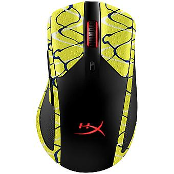 REYTID Durasoft Polymer Gaming Mouse Skin Grip Sticker Tape - PRE-CUT - Compatible avec HyperX PulseFire Dart - Slip-Resistant, WaterProof et Ultra-Comfortable Grips