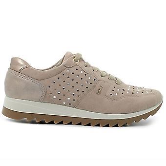 Sapato feminino Igi&co Eden 5165322 Bege Com Strass