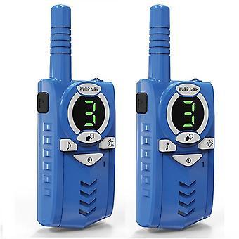 2pcs Toy Walkie Talkie Kids, محطة راديو 0.5w 7km, جهاز إرسال واستقبال لاسلكي في اتجاهين