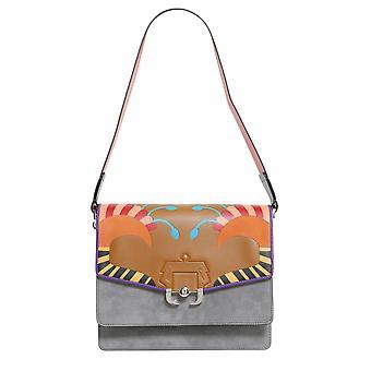 Paula Cademartori Twifw17vtcafiin50 Women's Multicolor Leather Shoulder Bag