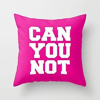 Kan du ikke Pillow Cover