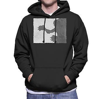 Creature From The Black Lagoon Water Shadow Men's Hooded Sweatshirt