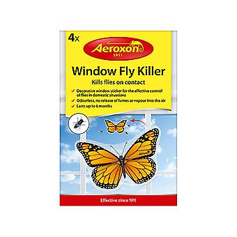Aeroxon Window Fly Bait Butterfly x 4 27555