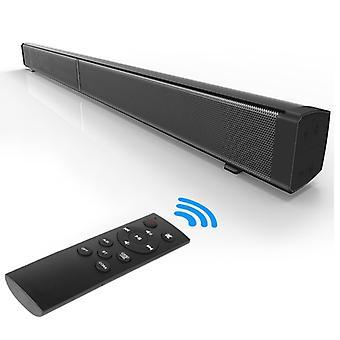 Soundbar LP-09 (CE0148) Home Theater Bluetooth Wireless Sound Bar Speaker with Remote Control(Black)