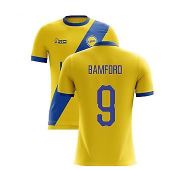 2020-2021 Leeds Preč Koncept Futbalové tričko (Bamford 9)