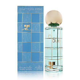 Courreges in blue by courreges for women 3.3 oz eau de parfum spray