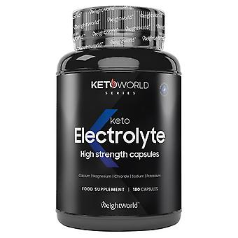 Keto Electrolyte Capsules - Wellness Supplement - 180 Capsules