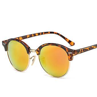 المرأة شعبية العلامة التجارية مصمم الرجعية الصيف نمط النظارات الشمسية