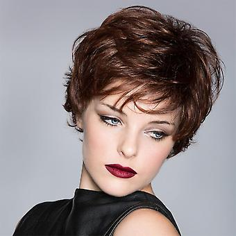 Women's Wig Women's Fashion Realistic Natural Chemical Fiber Short Curly Hair Head Cover