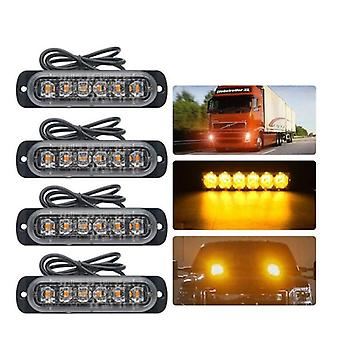 Emergency Grille Politi Light - Bil Styling Truck Van Beacon Strobe Advarsel