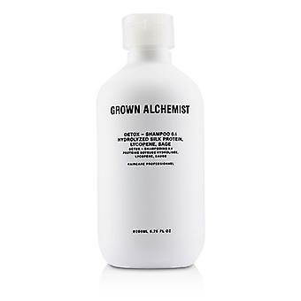 Kasvanut alkemisti Detox-shampoo 0,1 200ml/6.76 oz