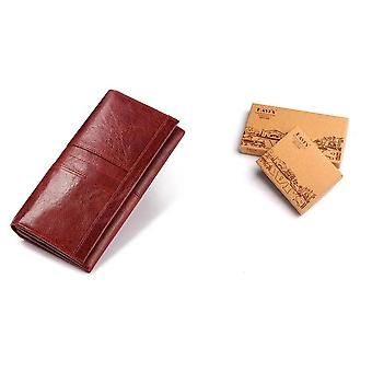 Genuine Leather Women Clutch Wallet