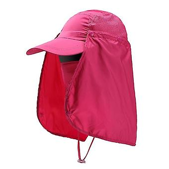 Unisex Sun Protection Hat And Uv Protection Face Neck Flap & Face Man Sun