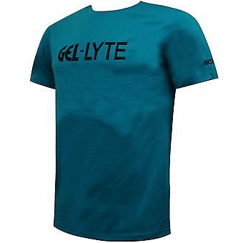 Asics جل Lyte رجال تي شيرت شعار العلامة التجارية توب البط البري 2191A093 400