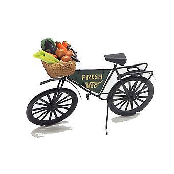 בובות בית ירוק מכולת חנות ירקות טריים אופניים אופניים