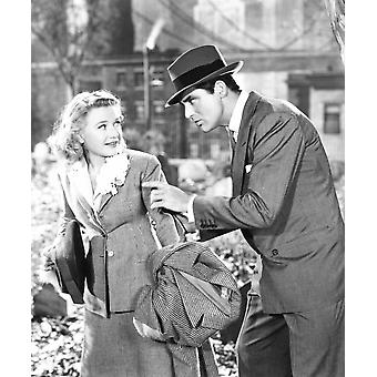 Arsenic And Old Lace From Left Priscilla Lane Cary Grant 1944 Photo Print