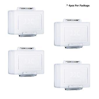 Jjc battery case for canon lp-e6, lp-e8, lp-e5, lp-e12, lp-e17 nikon en-el15, en-el14, en-el3e sony