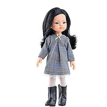 Paola queen clothes doll liu 32 cm multicolour (54415)