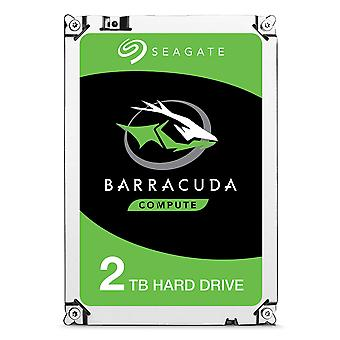 Seagate barracuda 2 tb disco rigido interno hdd 'Äì 3.5 pollici sata 6 gb/s 7200 rpm 256 mb cache 3.5 in