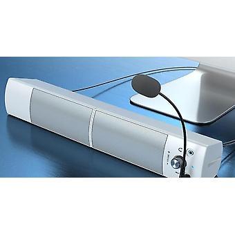 Usb vezetékes, Bluetooth, dual power nagy hangszóró mikrofonnal