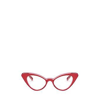 Vogue VO5317 top red / pink transparent female eyeglasses