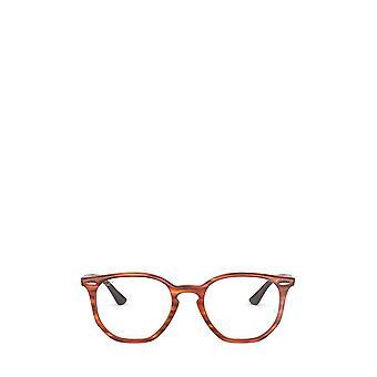 Ray-Ban RX7151 vaaleanruskea havana unisex silmälasit