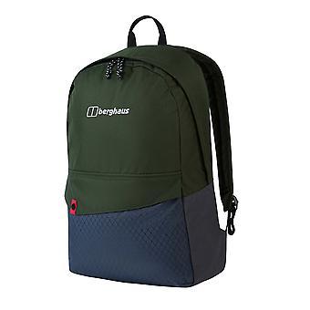 Berghaus 25 Brand Mochila mochila al aire libre escuela bolsa de deporte Khaki / azul