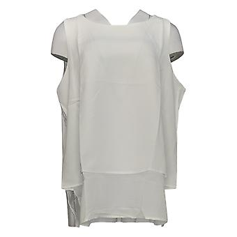 DG2 por Diane Gilman Mixed-Media Easy Tank Basic White 675-233