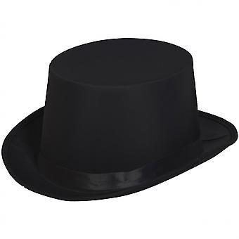 Top Hat 20.5 X 13 Cm Polyester Black