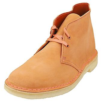 Clarks Originals Desert Boot Mens Desert Boots in Rust