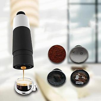 Mini handdruk draagbare capsules koffiezetapparaat