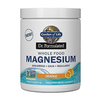 Dr. Formulated Whole Food Magnesium, Raspberry Lemon 198 g