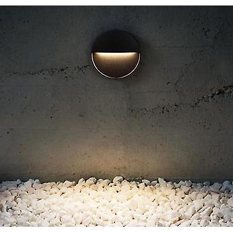 Kwadratowe /okrągłe światło schodowe LED na zewnątrz