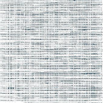 Blaue und weiße Punkte Multicolor gedruckt Teppich aus Polyester, Baumwolle, L80xP120 cm