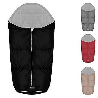 Lorelli thermo footbag barnvagn grå vattentät, vindtät, dragkedja