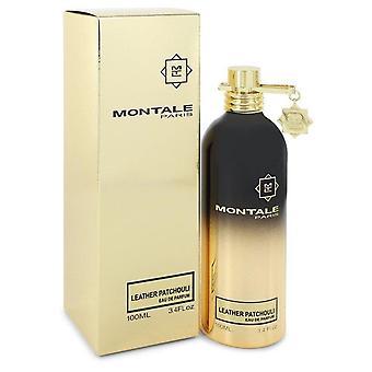 Montale Leather Patchouli Eau De Parfum Spray (Unisex) Par Montale 3.4 oz Eau De Parfum Spray