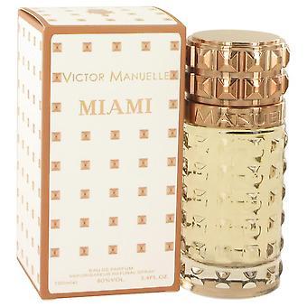 Victor Manuelle Miami Eau De Parfum Spray By Victor Manuelle 3.4 oz Eau De Parfum Spray