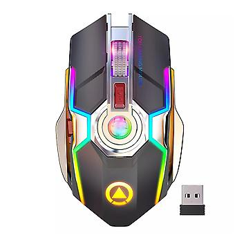 Wireless Ergonomic Optical Colorful Light Mice Gaming Mouse