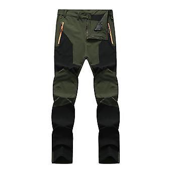 Men Elastic Water Resistant Skateboarding Pants
